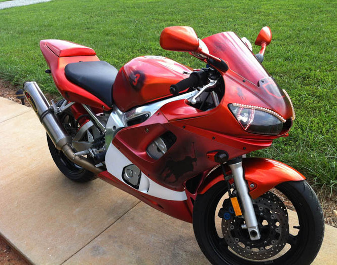 Custom motorcycle paint colors thecoatingstore for How much to paint a motorcycle