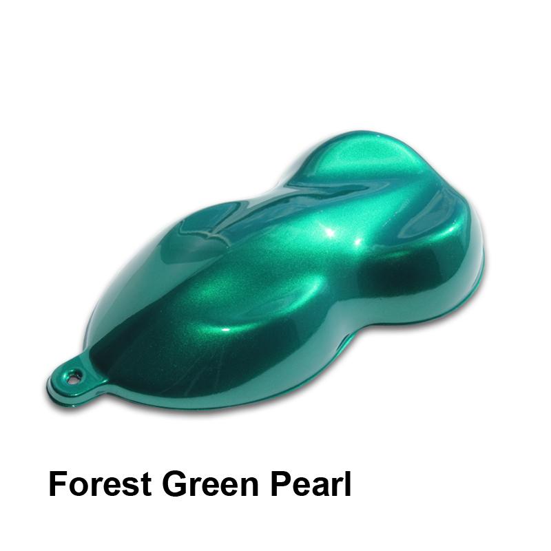 Dark forest green metallic autos post for Dark forest green paint