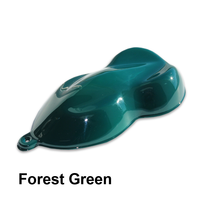 Dark Forest Green Auto Paint