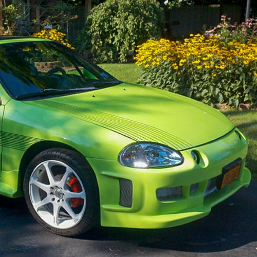 green auto paint