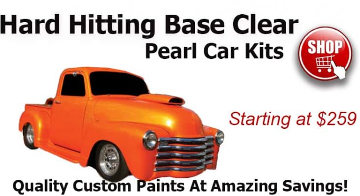 pearl 2 stage car paint colors